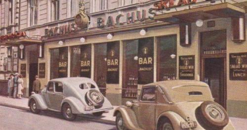 Spacer -Knajpy, restauracje i kawiarnie Dwudziestolecia