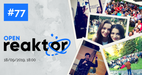 OpenReaktor #77 with BitTorrent and Samba TV co-founder Ashwin