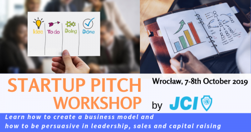 Startup Pitch Workshop in Wrocław - Become persuasive in sales, fund raising and team leadership