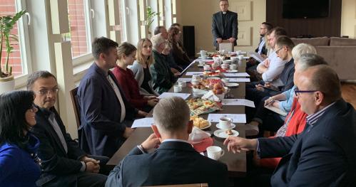 Wrześniowe spotkanie Duszpasterstwa Przedsiębiorców i Pracodawców TALENT Diecezji Elbląskiej