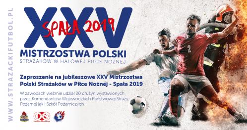 25 Mistrzostwa Polski Strażaków w Halowej Piłce Nożnej