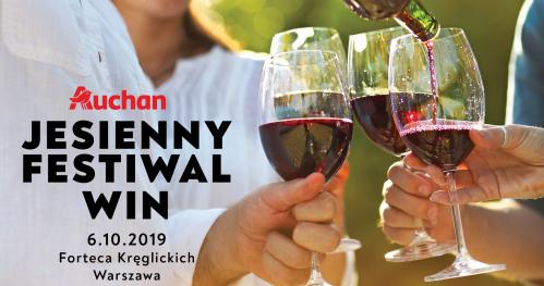 Degustacja Jesienny Festiwal Win Auchan