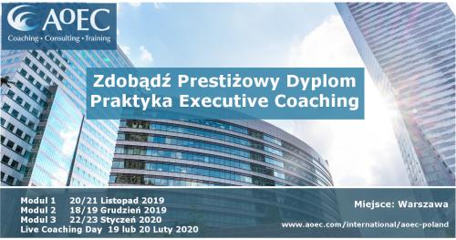 Zdobądź Prestiżowy Dyplom Praktyka Executive Coaching