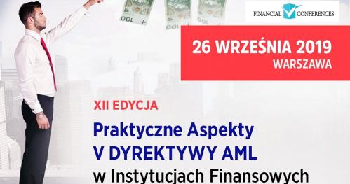Praktyczne Aspekty V DYREKTYWY AML w Instytucjach Finansowych - Radosław Obczyński