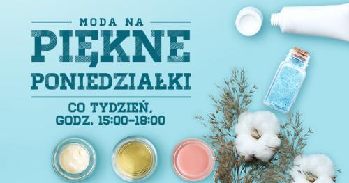 Spotkania z ekspertami beauty i warsztaty kosmetyków naturalnych w CH Osowa