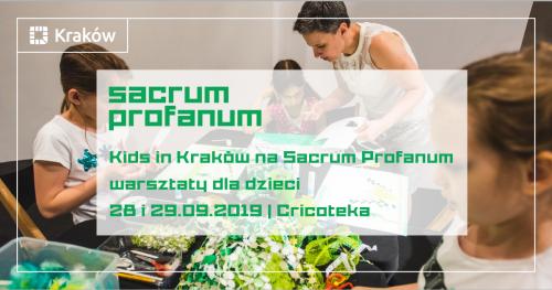 """#17. Sacrum Profanum:  Warsztaty muzyczno-plastyczne dla dzieci """"Nastroje muzyki"""""""