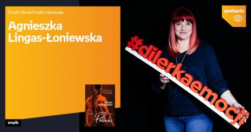 Agnieszka Lingas - Łoniewska w Empiku Silesia