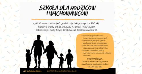 Szkoła dla Rodziców i Wychowawców [warsztaty]