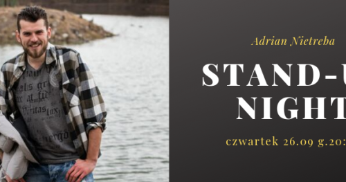 Stand-Up Night - Adrian Nietreba