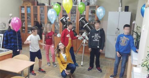 Polatajmy balonami - budujemy mikro misje startosferyczne - warsztaty dla dzieci w wieku 6-10 lat