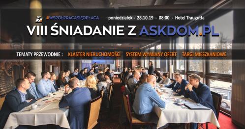 VIII Śniadanie z askdom.pl