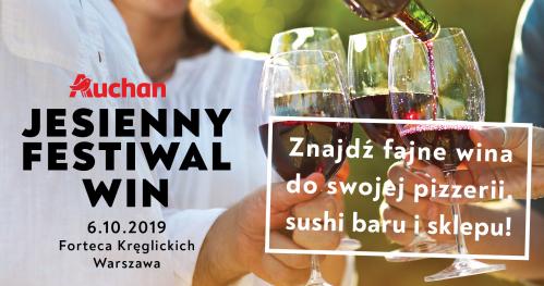 Jesienny Festiwal Win Auchan - zaproszenie dla gastronomii