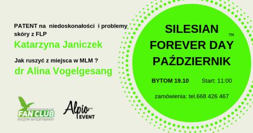 Silesian Forever Day  październik z Katarzyną Janiczek i dr Aliną Vogelgesang