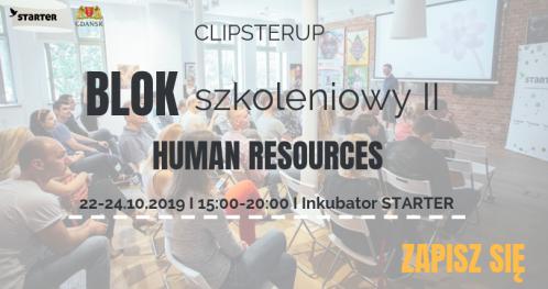 "ClipsterUP - Blok szkoleniowy II ""HR"""