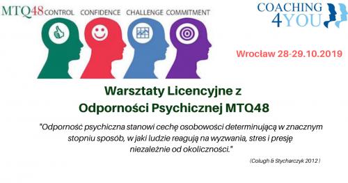 Warsztaty Licencyjne z Odporności Psychicznej
