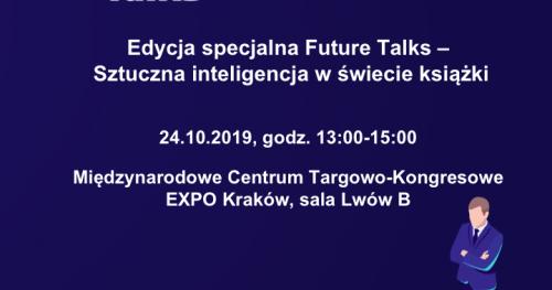 Future Talks - Sztuczna inteligencja w świecie książki
