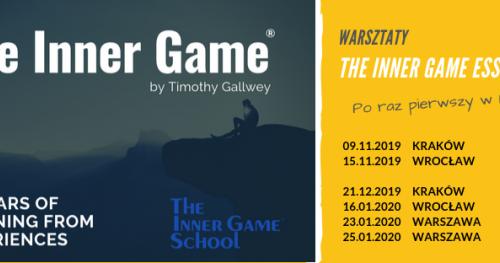 The Inner Game - warsztaty wprowadzające