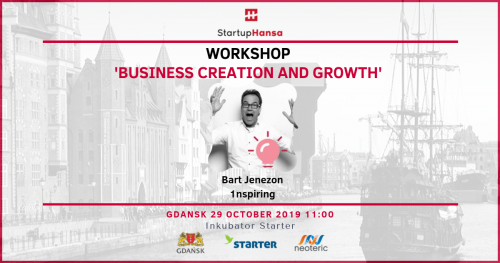 Workshop 'Creation and growth of business' - Startup Hansa
