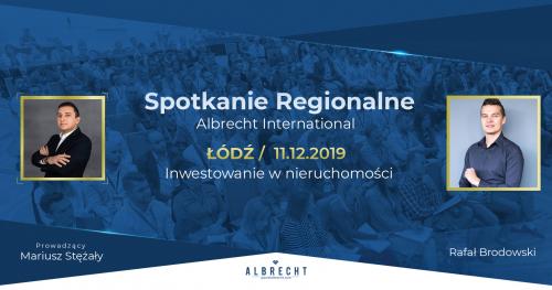Łódź - spotkanie regionalne / inwestowanie w nieruchomości