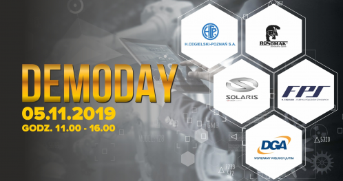DemoDay - Finał I Rundy Akceleratora Innowacji Przemysłowych INDUSTRYLAB II