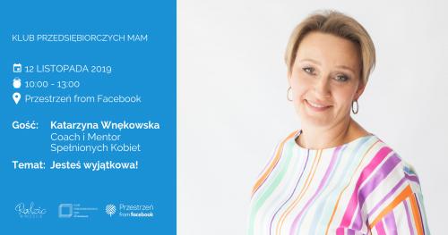 Klub Przedsiębiorczych Mam Warszawa - listopad