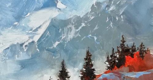 TEST Workshop oil painting Autumn mountains (9.NOV 11:00)
