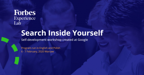 Search Inside Yourself. Self-development program developed at Google
