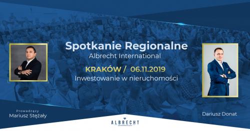 Kraków - spotkanie regionalne / inwestowanie w nieruchomości