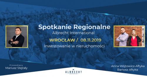Wrocław - spotkanie regionalne / inwestowanie w nieruchomości