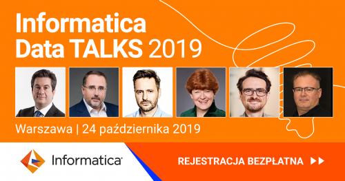 Informatica Data Talks 2019 Warszawa