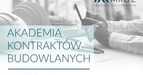 Umowy budowlane 2.0 - Poznań