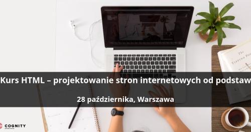 Kurs HTML - projektowanie stron internetowych od podstaw - Warszawa