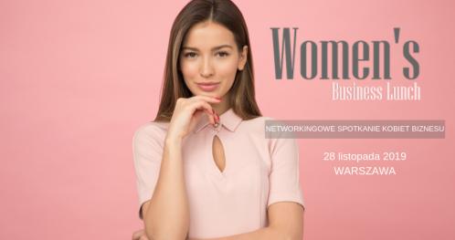 Women's Business Lunch - networkingowe spotkanie kobiet biznesu WARSZAWA