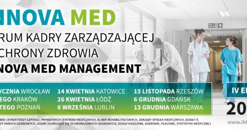 Forum Kadry Zarządzającej w Ochronie Zdrowia - Rzeszów - 15.11.2019