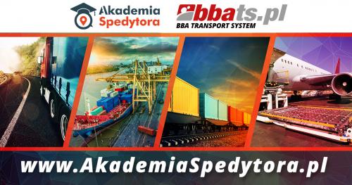 Akademia Spedytora - Bezpłatne Szkolenia Ekspertów Branży TSL (Transport, Spedycja, Logistyka) - III Edycja