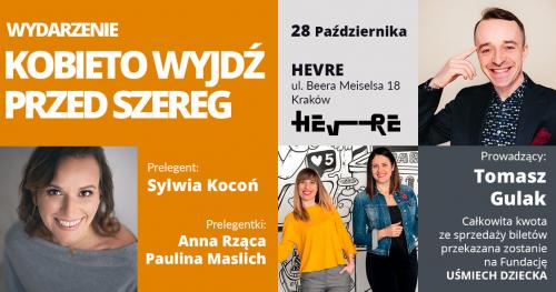 Kobieto - Wyjdź przed Szereg #19 / Kraków
