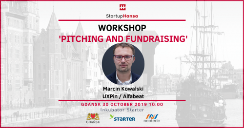 Workshop 'Pitching and Fundraising' - Startup Hansa