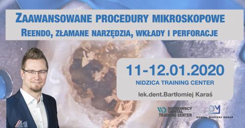 Zaawansowane procedury endodontyczne - Reendo, Perforacje, Złamane narzędzia, wkłady