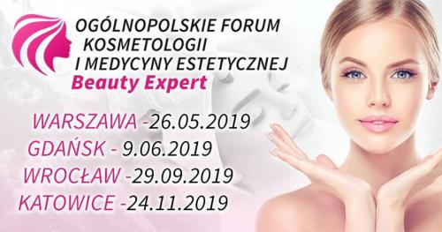 Katowice, 24.11.2019. Kongres dla branży Beauty - Kosmetologów, Kosmetyczki, Lekarzy Medycyny Estetycznej. Bezpłatne wejściówki.