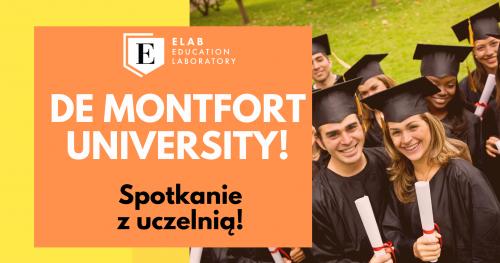Spotkanie z brytyjską uczelnią - De Montfort University!