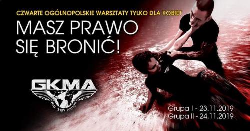 Masz Prawo Się Bronić - Ogólnopolskie Warsztaty Samoobrony Tylko Dla Kobiet
