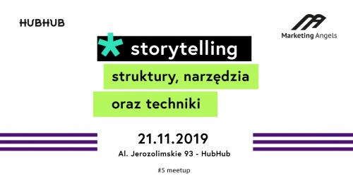 Storytelling - sztuka opowiadania historii. Marketingowe Tłuste Czwartki #5