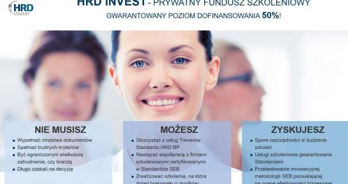 Spotkanie informacyjne - Prywatny Fundusz Szkoleniowy - HRD INVEST