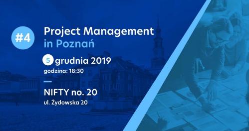 PM Poznań #4 Produktywny Project Manager - czyli jak pracować mądrzej, a nie więcej.