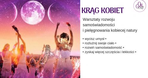Krąg Kobiet - warsztaty rozwoju samoświadomości Wrocław