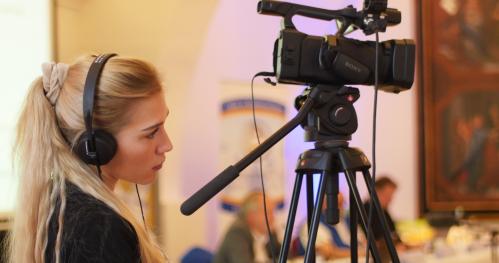 Nagrywanie wydarzenia kulturalnego - szkolenie dla organizatorów licealnych festiwali w ramach Sieci Warszawskich Festiwali Młodzieżowych