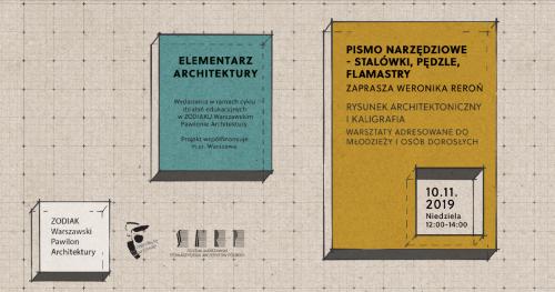 Pismo narzędziowe - stalówki, pędzle, flamastry
