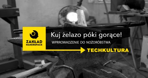 TECHkultura: warsztaty z wykuwania NOŻY od podstaw