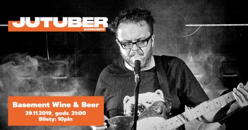 Jutuber w Basement Wine & Beer