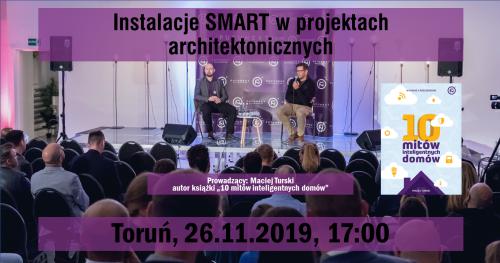 Toruń: Instalacje smart w projektach architektonicznych